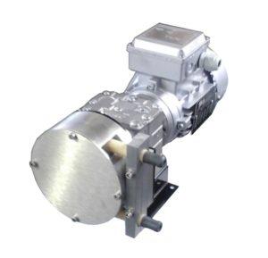 pompa peristaltica per acido cloridrico HC 10, www.peristalticpumps.it pompe peristaltiche pompa peristaltica