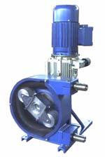 pompa peristaltica dosatrice meccanica a portata variabile pompe peristaltiche dosatrici