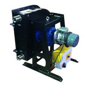 pompa peristaltica hose carrier hcp 40 con quadro su base