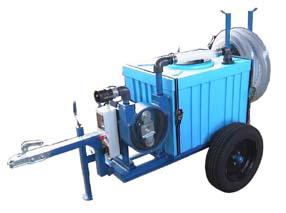 pompa di sentina mobile su carrello per acque nere partner 2r