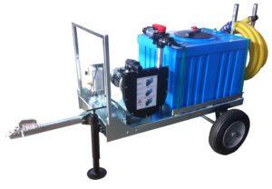 pompa di sentina mobile su carrello per acque nere partner 2rw