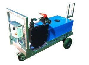 pompa di sentina mobile su carrello per acque nere partner 3r