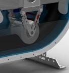 accessori rullo retrattile per pompa peristaltica