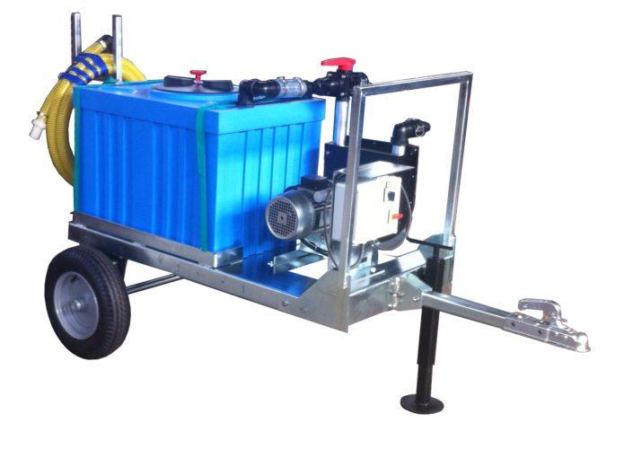 Sistema mobile di scarico acque di sentina Partner 2r