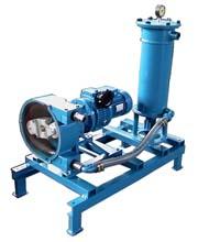 pompa per filtrazione emulsioni oleose e oli contaminati