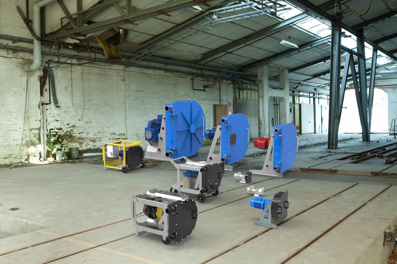 motopompe ed elettropompe peristaltiche hose carrier