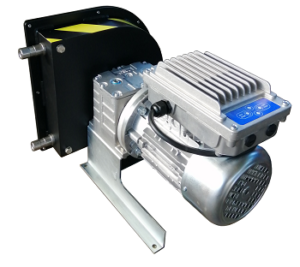 peristaltic pumps for suction of contaminated lubricants