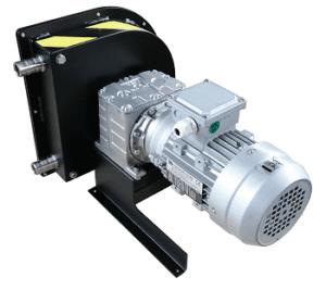 pompa peristaltica per policloruro di alluminio e fluidi ad elevata viscosità