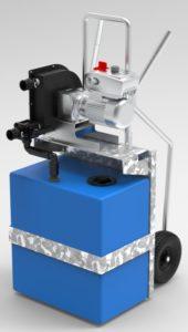 Carrello mobile per aspirazione acque nere e di sentina Partner Trolley